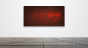 "Abstract 034  /   48"" x 24""   /   Acrylic on canvas"