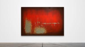 """Custom 022  /   84"""" x 55""""   /   Acrylic on canvas"""