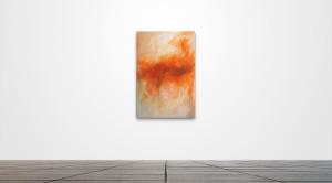"Untitled 008  /   24"" x 36""   /   Acrylic on canvas"
