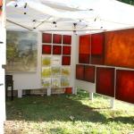 Andy Hahn Shaw Art Fair Booth