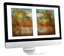 Computer Rendering of Custom Art by Andy Hahn
