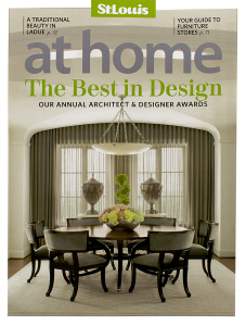Andy Hahn art in St. Louis At Home magazine cover