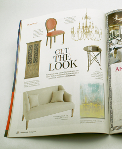 Andy Hahn art in St. Louis At Home magazine spread