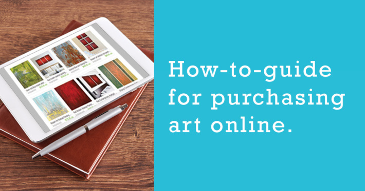 How to guide for purchasing art online - Andy Hahn
