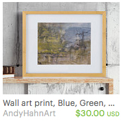 giclee art print by Andy Hahn