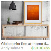 fine art prints by abstract artist Andy Hahn