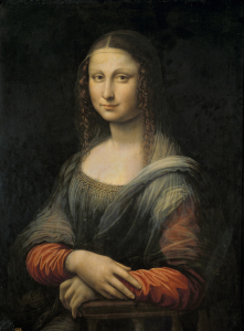 Original Mona Lisa Twin Painting