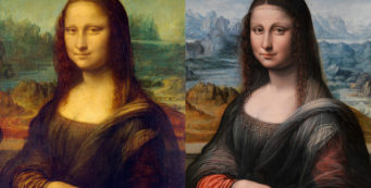 Mona Lisa's twin