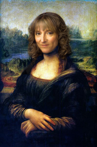 Fake Mona Lisa portrait - Epic Fail
