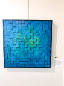 Andy Hahn - Under Water Memory modern abstract painting